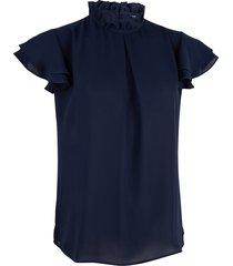 cavallaro t-shirt 6401002 tomaga top blauw