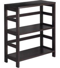2-tier wide leo shelf