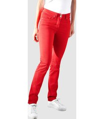 broek dress in rood
