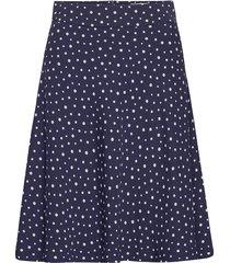 neo paris stelly c knälång kjol blå mads nørgaard