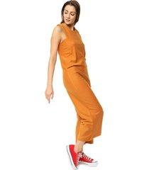 mono naranja prussia dress
