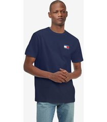 tommy hilfiger badge t-shirt sky captain - xxl