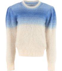 isabel marant étoile long sleeve crew-neck sweater