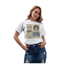 camiseta basica my t-shirt back to the 90s branco