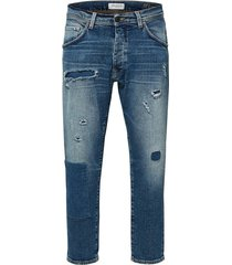 cropped jeans tapered fit