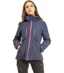 chaqueta shelter b-dry hoody azul marino lippi