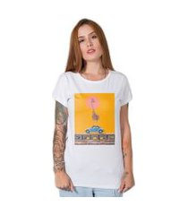 camiseta  giraffe street branco