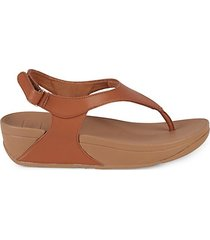 skylar back-strap thong sandals