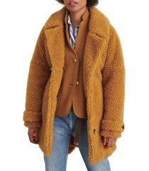 women's alex mill fleece tie waist jacket
