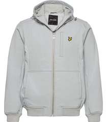 softshell jacket dun jack grijs lyle & scott