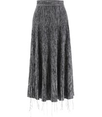 marni long knit skirt