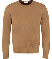 z zegna wool crew-neck sweater