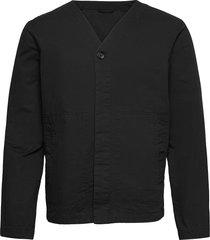 m. abe cotton jacket dun jack zwart filippa k