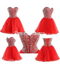 a-line weetheart homecoming dress,short prom dress,cocktail dress,evening dress
