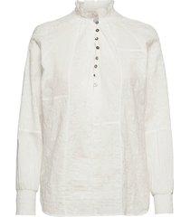 esther blouse blouse lange mouwen wit odd molly