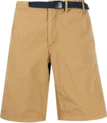 ps paul smith belted bermuda shorts - brown