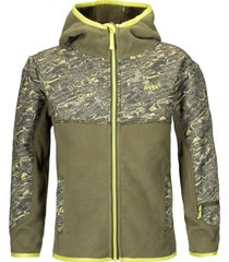 chaqueta grillo therm-pro hoody jacket verde militar lippi