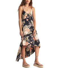 billabong juniors' the best floral maxi dress