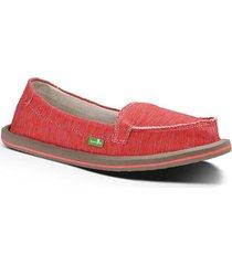 zapatos mujer sanuk shorty coral multi 6