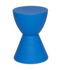 banqueta tube azul or design
