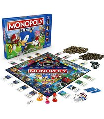 monopolio gamer sonic monopoly español original hasbro