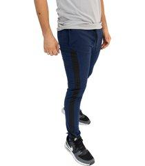 sudadera jogging azuloscuro/negro manpotsherd ref: ft