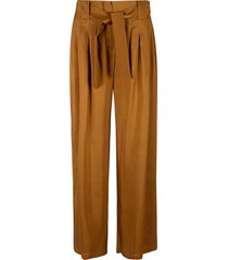 max mara belted waist trousers