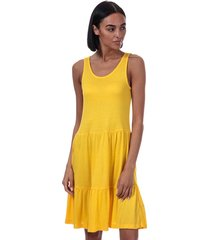 only nyla jersey dress size 16 in yellow