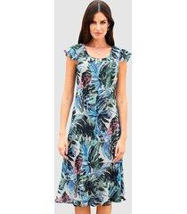 keerbare jurk paola royal blue