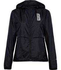w jacket night night outerwear sport jackets svart björn borg