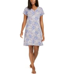 charter club cotton sleepshirt nightgown, created for macy's