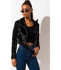 akira azalea wang diamond in the ruff liquid velvet luxy moto jacket