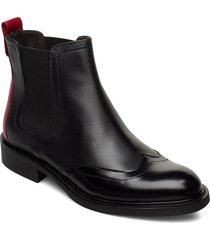 boots 85855 stövletter chelsea boot svart carla f