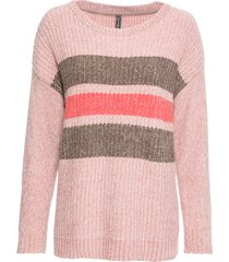 maglione in ciniglia (rosa) - rainbow