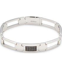 effy women's sterling silver & black sapphire bangle bracelet