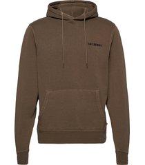 casual hoodie sweat-shirt trui bruin han kjøbenhavn