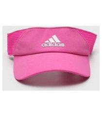 viseira adidas performance aeroready rosa