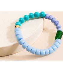 women's andrea eclectic beaded bracelet in multi by francesca's - size: one size