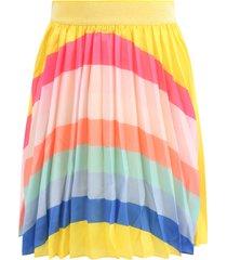billieblush yellow skirt for girl with rainbow