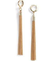 women's vince camuto long tassel earrings