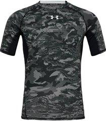 ua hg armour ss nov t-shirts short-sleeved svart under armour