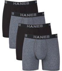 hanes platinum comfort flexfit total support pouch boxer briefs