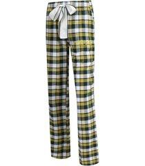 concepts sport women's oregon ducks piedmont flannel pajama pants