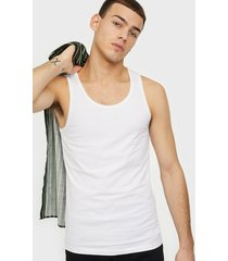 bread & boxers m's 2-pack tank t-shirts & linnen white