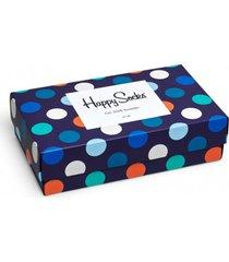 giftbox 3pak skarpetki happy socks classic mix