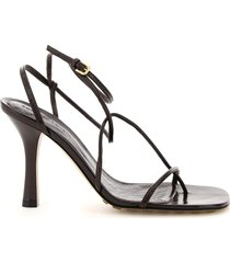 bottega veneta bv line leather thong sandals