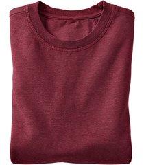 jersey t-shirt uit een mix van hennep en bio-katoen, kastanje xl