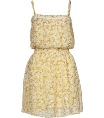 guess zomerjurkje - louise dress - geel / yellow