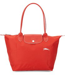 le pliage club leather-trim tote