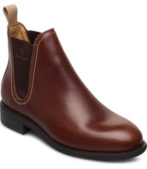ainsley chelsea shoes chelsea boots brun gant